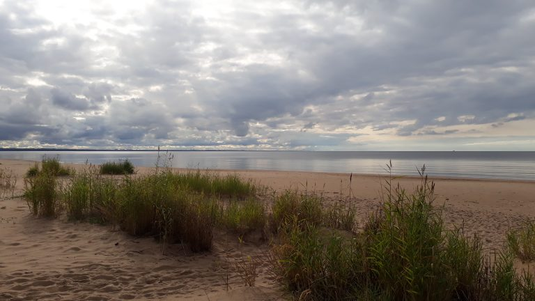 Strand bei Narva
